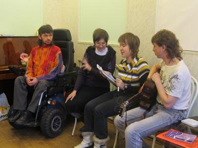 Общения инвалидов знакомства общение для